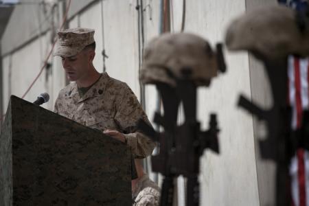 Gunnery Sgt. Shawn E. Hughes